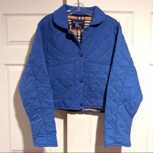 Burberry Vintage Blue Unisex Quilted Jacket